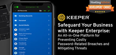 Safeguard Your Business With Keeper Enterprise