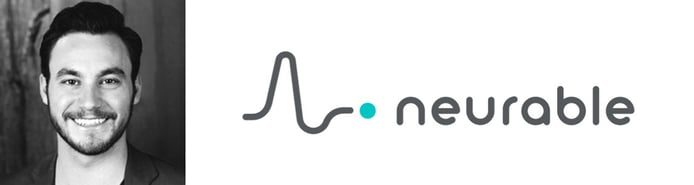 Adam Molnar, Director of Partner Success at Neurable and logo