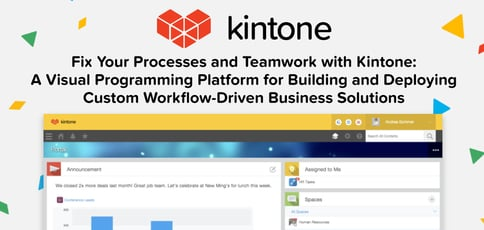 Build And Deploy Workflow Driven Business Solutions With Kintone