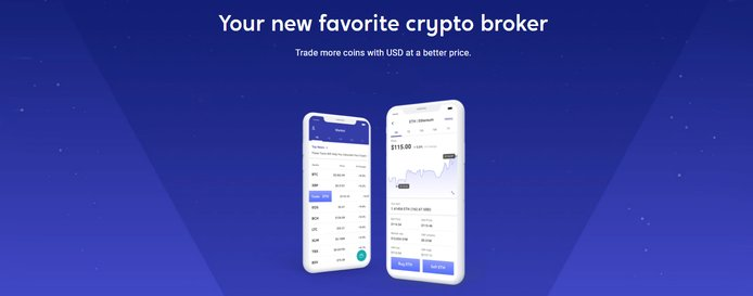 Your new favorite crypto broker