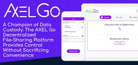Axel Is A Champion Of Data Custody