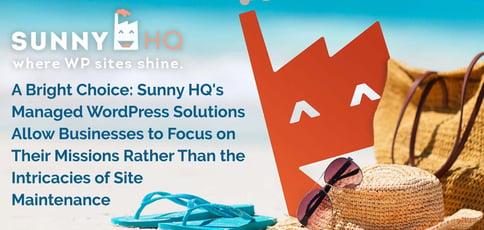 Sunny Hq Makes Wordpress A Breeze