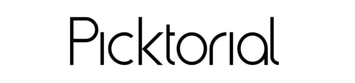 Picktorial logo
