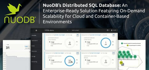 Nuodb Delivers A Scalable Distributed Sql Database