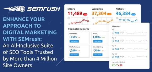 Semrush Delivers All Inclusive Seo Tools