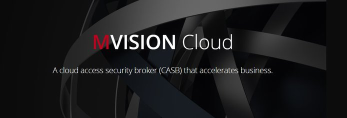 MVISION Cloud banner