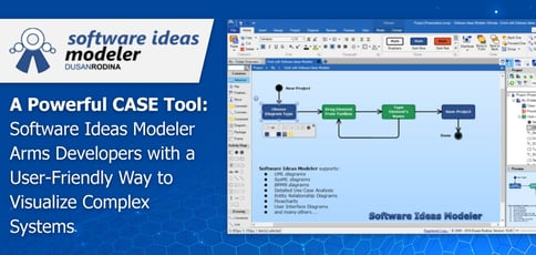Software Ideas Modeler Delivers A Powerful Case Tool