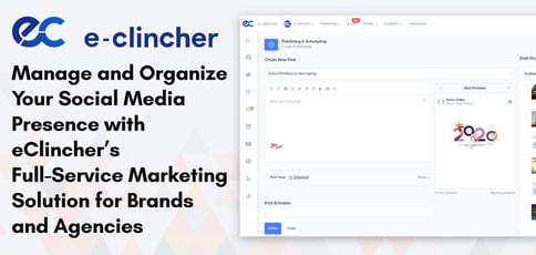 Eclincher Delivers Social Media Management Tools