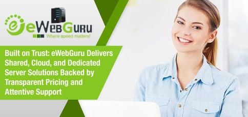 Ewebguru Delivers Hosting Built On Trust