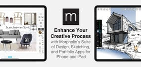 Enhance Your Creative Process with Morpholio's Suite of Design, Sketching, and Portfolio Apps for iPhone and iPad
