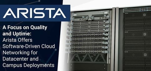 Arista Delivers Software Driven Cloud Networking