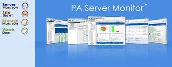 Screenshot of PA Server Monitor solution
