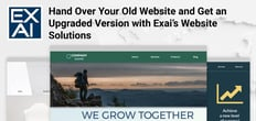 Hand Over Your Old Website and Get an Upgraded Version with Exai's Website Solutions