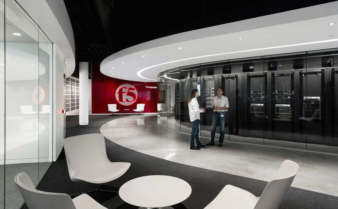 Photo of an F5 Customer Engagement Center