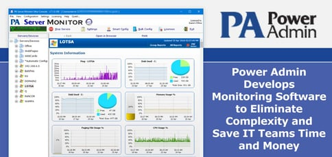 Power Admin Simplifies It Monitoring Software