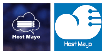 Evolution of the Host Mayo logo