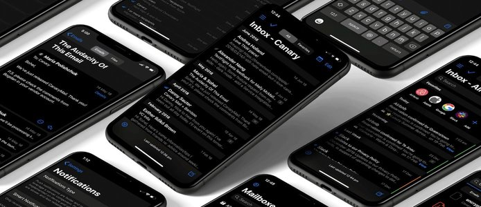 Canary app on iPhone