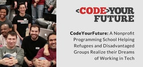 CodeYourFuture: A Nonprofit Programming School Helping Refugees and Disadvantaged Groups Realize their Dreams of Working in Tech