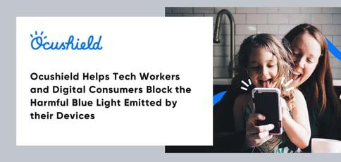 Ocushield Blocks Blue Light From Devices