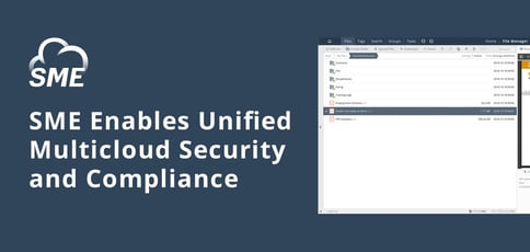 Sme Enables Multicloud Security And Compliance