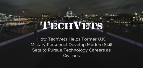 Techvets Reskills Former Military Members