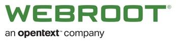 Webroot logo and tagline