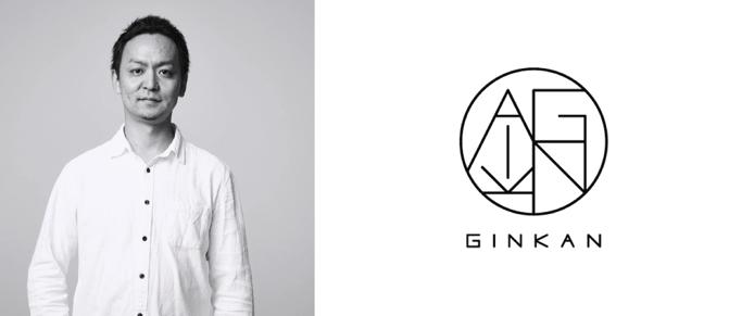 Founder and CEO Tomochika Kamiya and GINKAN logo