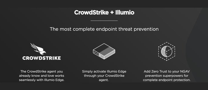 CrowdStrike + Illumio graphic