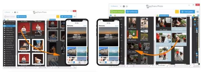 CopyTrans screenshots