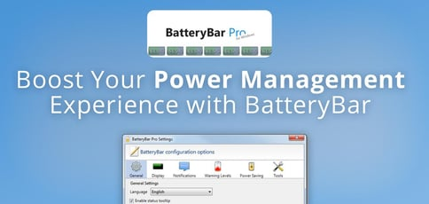 Boost Your Power Management Experience With Batterybar