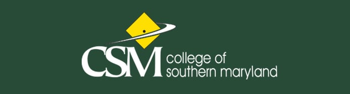 The College of Southern Maryland logo