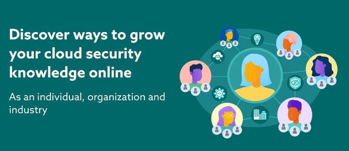 Discover ways to grow your cloud security knowledge online