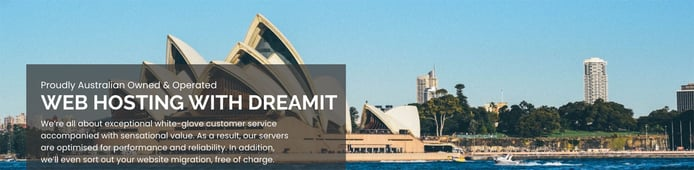 DreamIT is a leading host in the Australia market