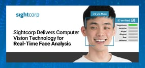 Sightcorp Delivers Computer Vision Technology for Real-Time Face Analysis Hosted at the Edge