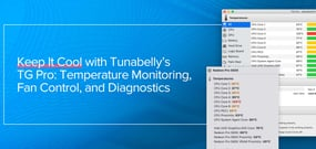 Keep It Cool While Site Building with Tunabelly's TG Pro: Temperature Monitoring, Fan Control, and Diagnostics for Mac Users