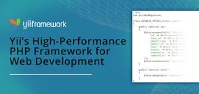Yii: A High-Performance PHP Framework for App Development That Deploys via Various Hosting Environments