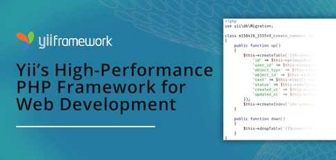 Yii Is A High Performance Php Framework For App Development