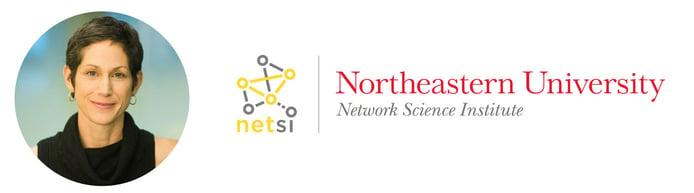 Kate Coronges, Executive Director of NetSI and logo