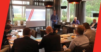 Photo of bHosted client meeting