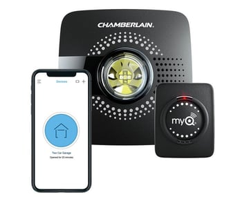 Photo of the myQ system