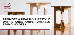Developers and Server Admins Can Use StandStand's Portable Standing Desk to Promote a Healthy Lifestyle