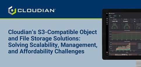 Cloudian Delivers S3 Compatible Object And File Storage Systems