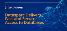Datasparc Delivers Fast and Secure Access to Databases Hosted On-Prem or in the Cloud