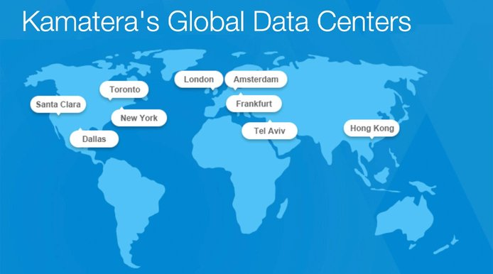 The hosting company has Tier-1 infrastructure positioned across the globe.