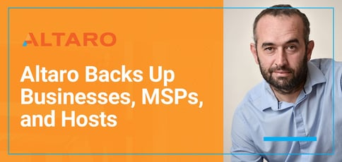 Altaro Backs Up Businesses Msps And Hosts