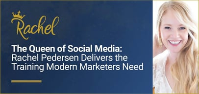 Rachel Pedersen Delivers Social Media Marketing Training for Businesses, Aspiring Marketing Pros, & Site-Building Entrepreneurs