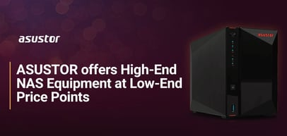 ASUSTOR's Storage Servers: High-End Network-Attached Storage Equipment at Low Price Points