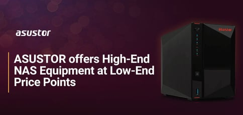 Asustor Offers High End Nas Equipment At Low End Price Points