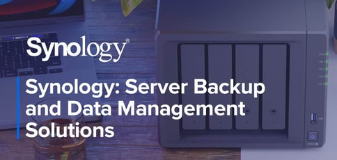 Synology Simplifies Server Backup And Data Management