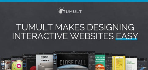 Tumult Makes Designing Interactive Websites Easy
